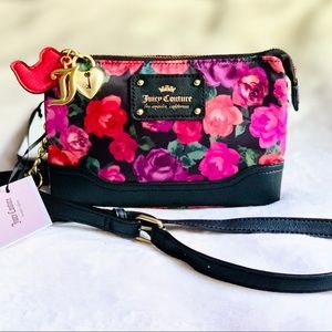 Juicy Couture Charm School Mini Floral Crossbody
